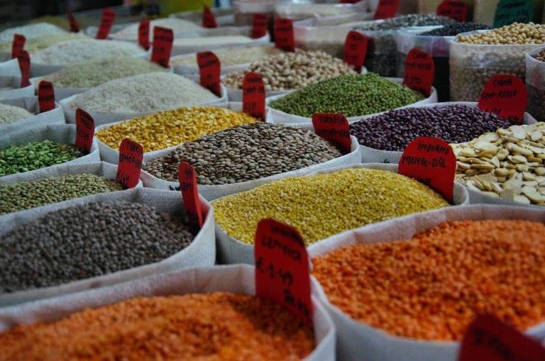 beans, fiber